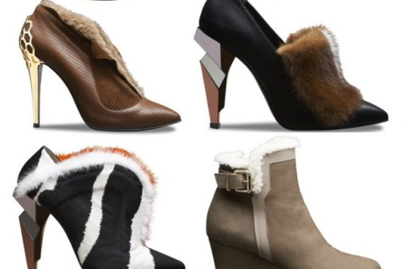 c8ec305fbd7f Mink And Shearling Trimmed Booties From Fendi - Lux Pursuits