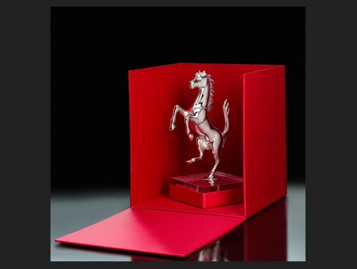 Ferrari Prancing Horse - Silver 2