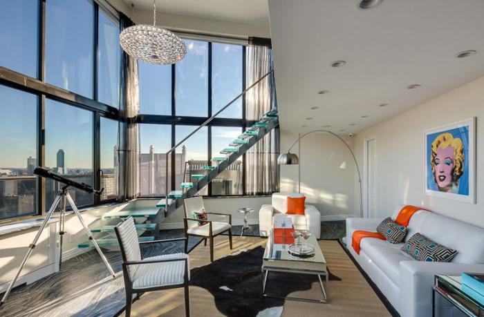 Frank Sinatra's NYC penthouse 10