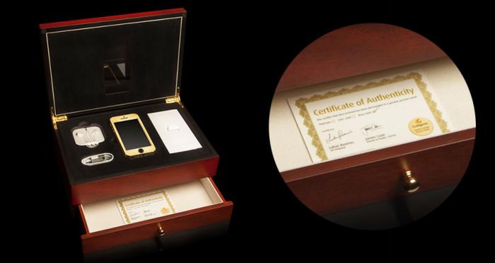 Goldgenie Solid Gold iPhone 5S 4