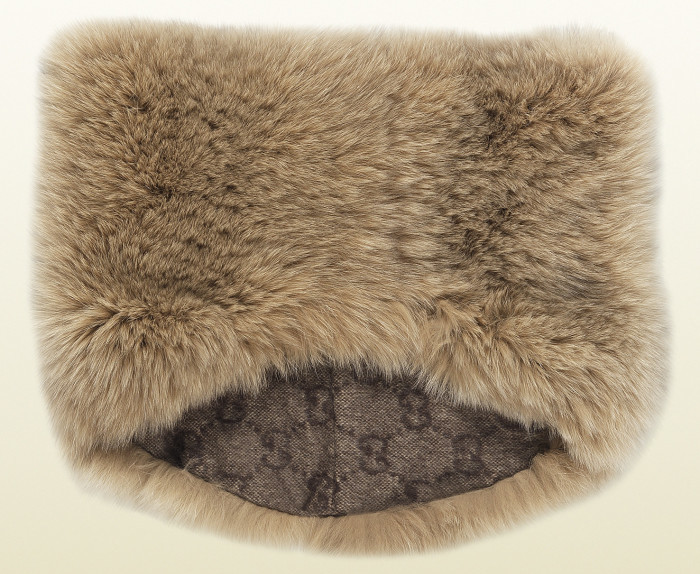 Gucci - Fox Fur Ring Scarf