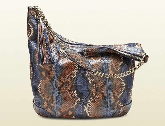 Gucci - Soho Python Shoulder Bag