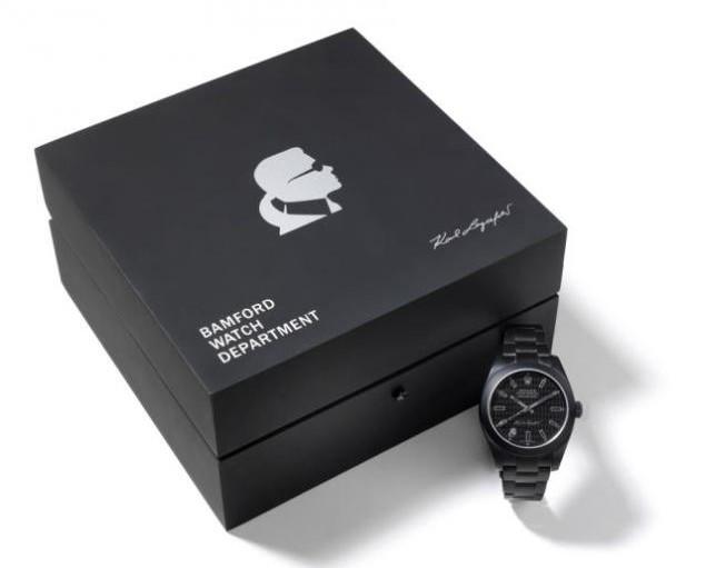 Karl Lagerfeld and Bamford Watch Rolex 2