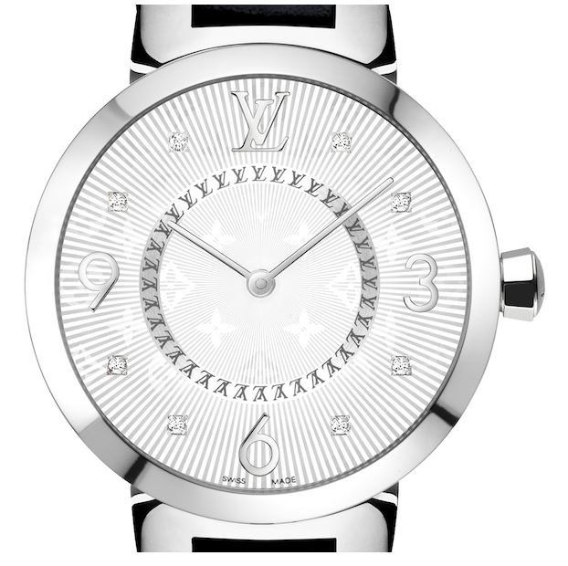 Louis Vuitton - Tambour Monogram 28mm Steel Quartz