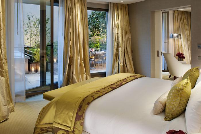 Mandarin Oriental Paris Terrace Suite