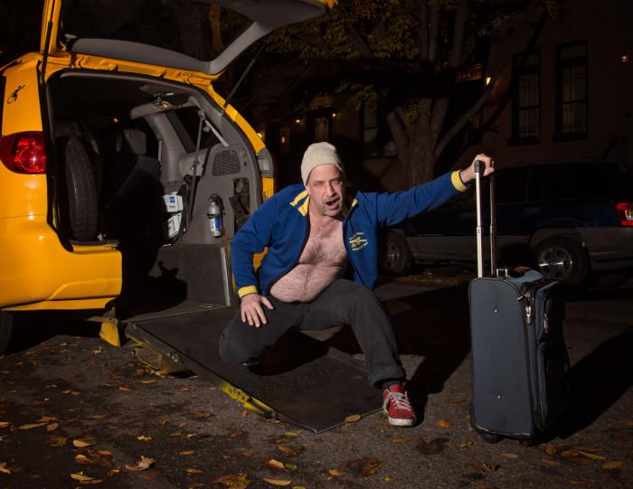 NYC Cab Driver Calendar 2014 - Dan