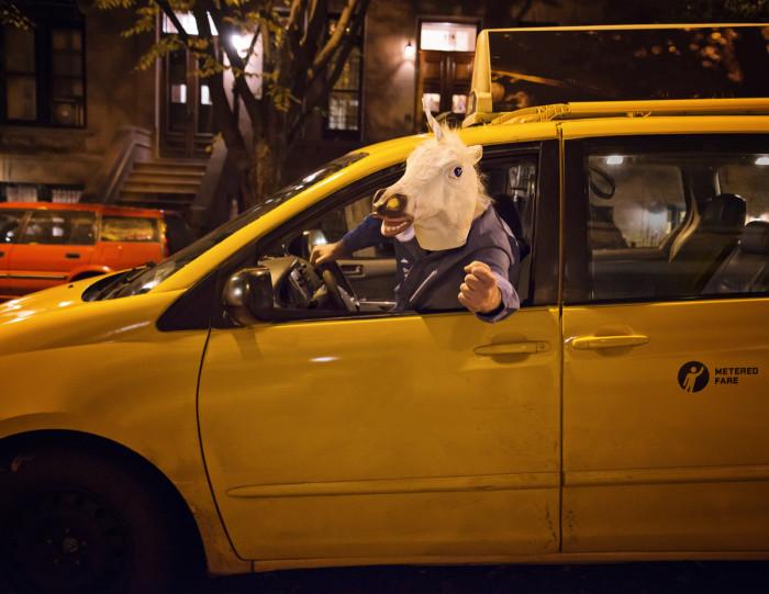 NYC Cab Driver Calendar 2014 - Unicorn
