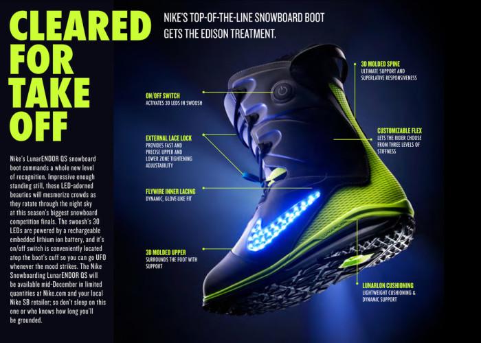 Nike LunarENDOR QuickStrike Boots 2