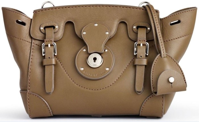 Ralph Lauren Soft Ricky 18 Cross-Body Truffle 1