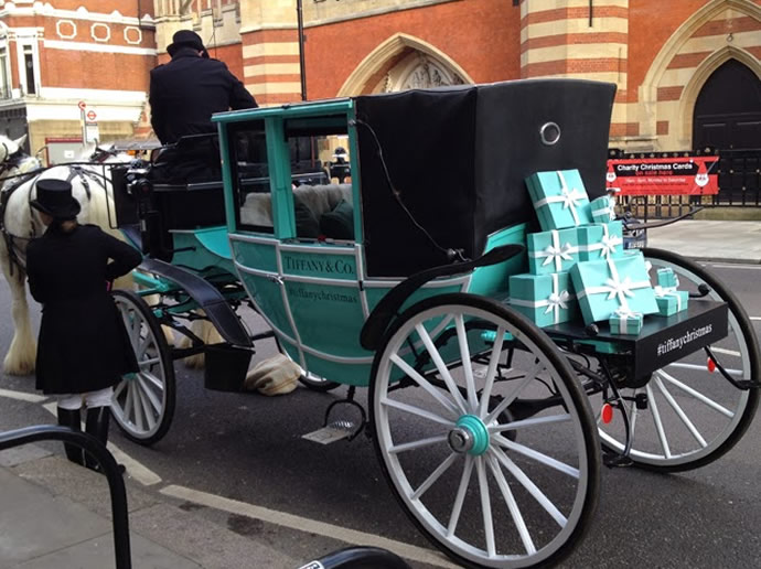 Tiffany Christmas Carriage 6