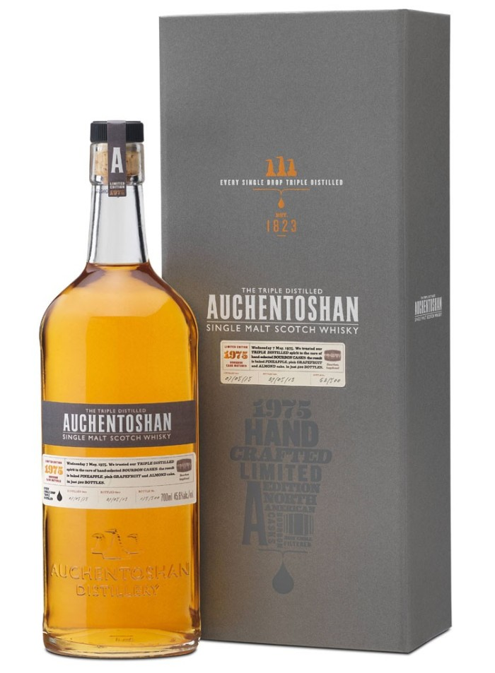 Auchentoshan 1975 Vintage Single Malt Scotch Whisky 2