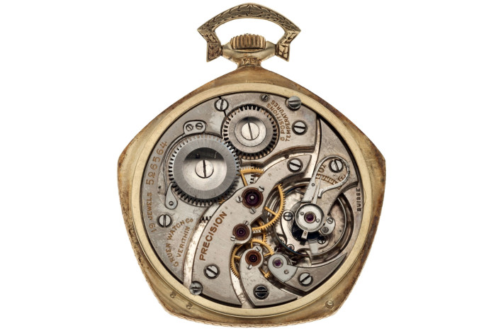 Babe Ruth's 1923 Yankees World Series Gruen Pocket Watch 3