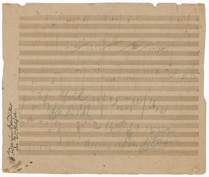 Beethoven's Sketchleaf For The Missa Solemnis 2