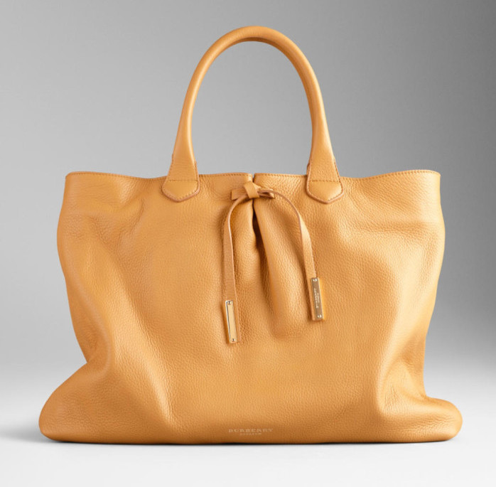 Burberry - SS  2014 Bow Detail Deerskin Tote 1
