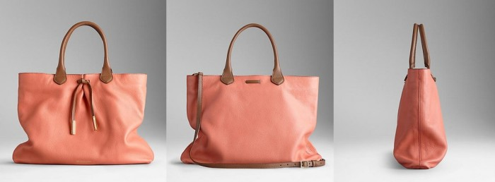 Burberry - SS 2014 Bow Detail Deerskin Tote 2