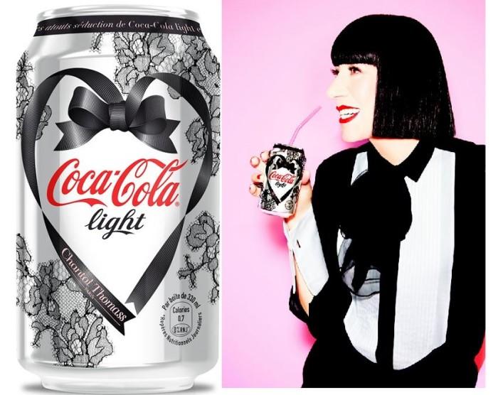 Chantal Thomass Valentine's Day Diet Coke can 1