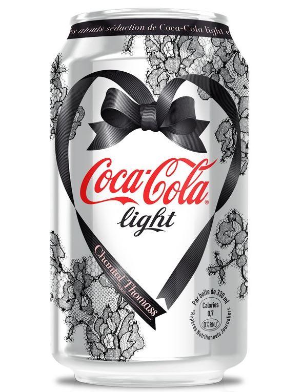 Chantal Thomass Valentine's Day Diet Coke can 2