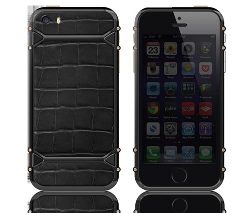Clous de Paris Black & Gold iPhone 5s 3