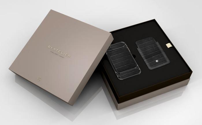 Clous de Paris Black & Gold iPhone 5s 5