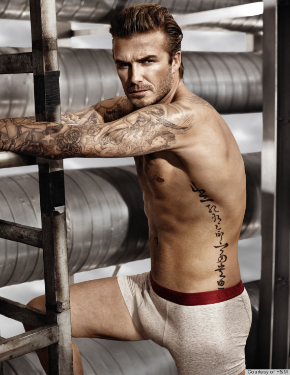 David Beckham H&M Super Bowl Ads - 2