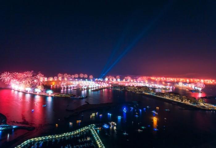 Dubai New Years Fireworks 1