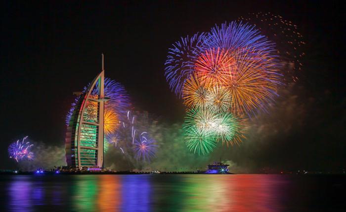 Dubai New Years Fireworks 3
