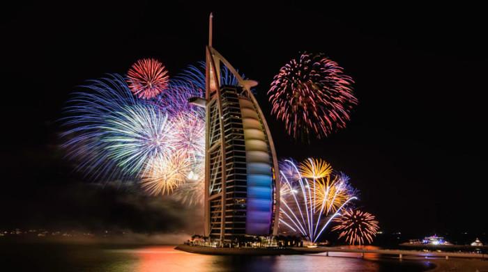Dubai New Years Fireworks 4