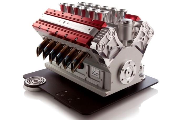 Espresso Veloce Serie Titanio V12 Coffee Machine 1