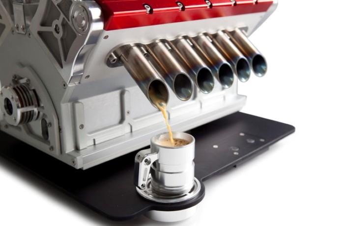 Espresso Veloce Serie Titanio V12 Coffee Machine 2