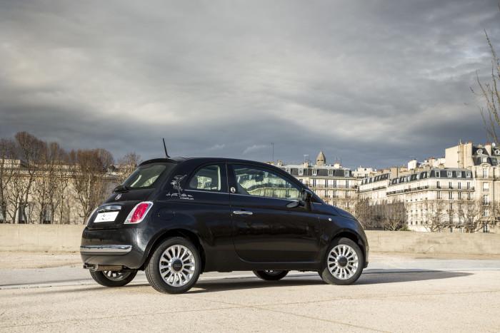 Fiat 500 La petite Robe noire by Guerlain