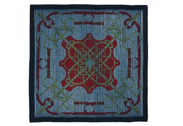 Hermès Indigo Silk Scarf Collection 1