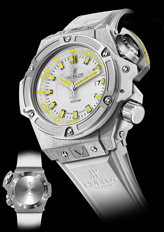 Hublot Oceanographic 4000 Cheval Blanc Randheli Special Edition 2