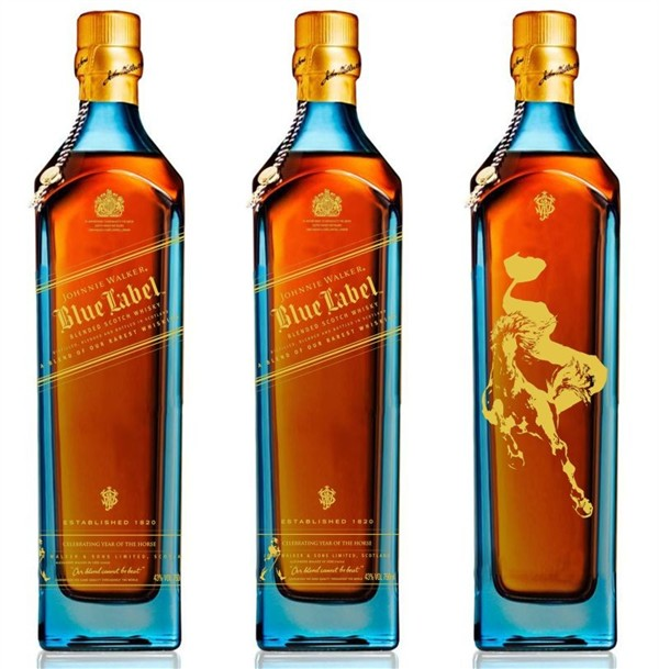 """Johnnie Walker Blue Label """"Year of the Horse"""" 2"""