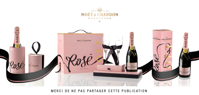 Moët & Chandon - Rosé x Tyrsa 'Link Your Love Rosé' Pack 3