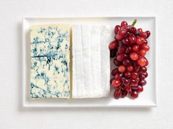 National Food Flag - France