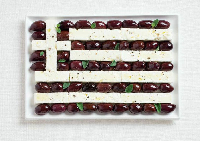 National Food Flag - Greece