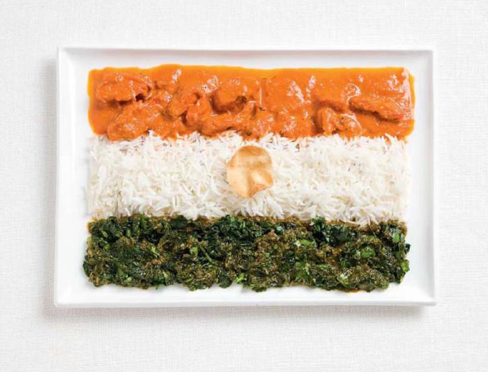 National Food Flag - India