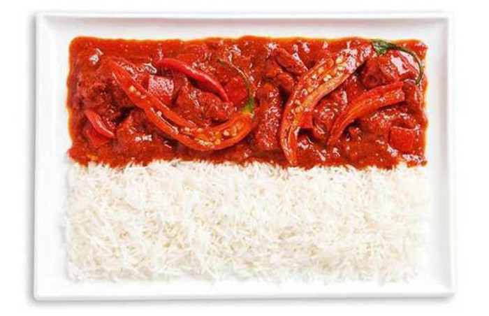 National Food Flag - Indonesia
