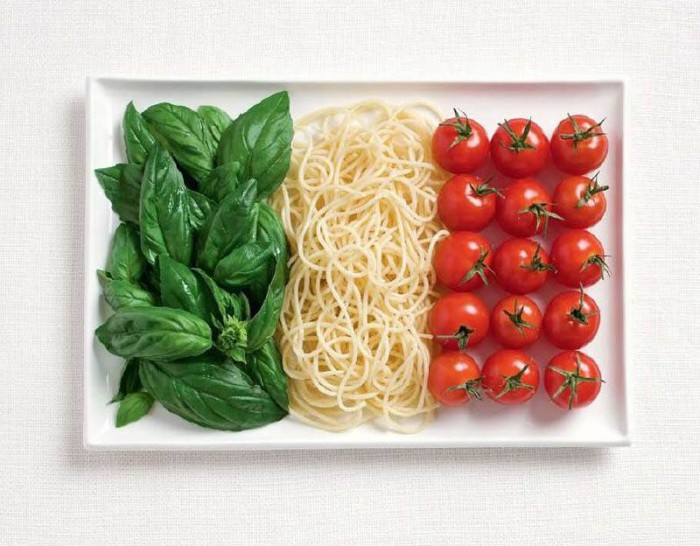 National Food Flag - Italy