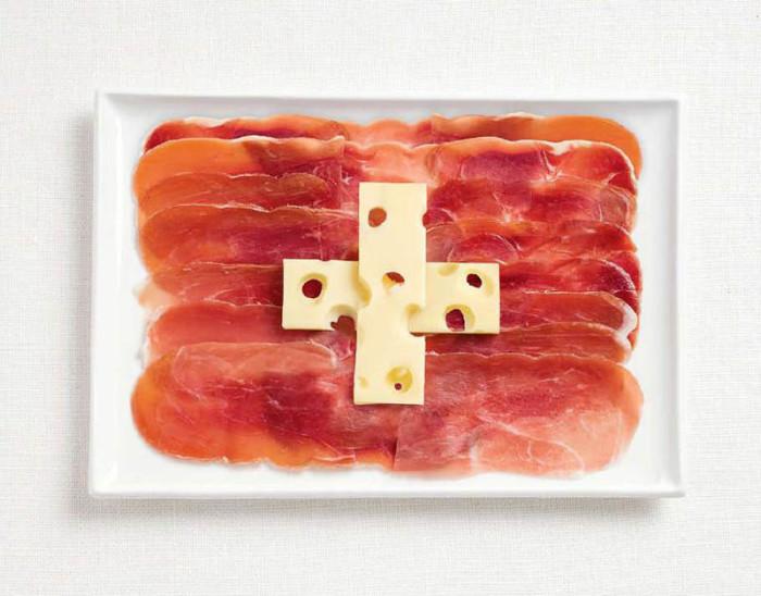 National Food Flag - Switzerland