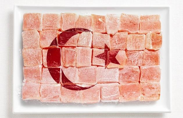 National Food Flag - Turkey