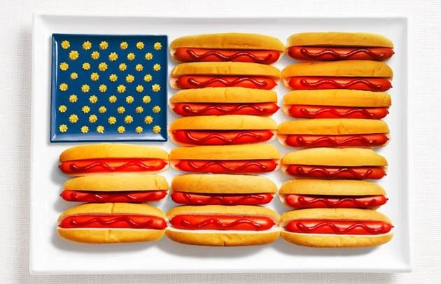 National Food Flag - US