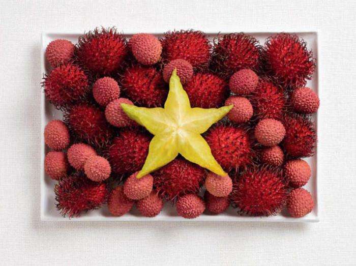 National Food Flag - Vietnam