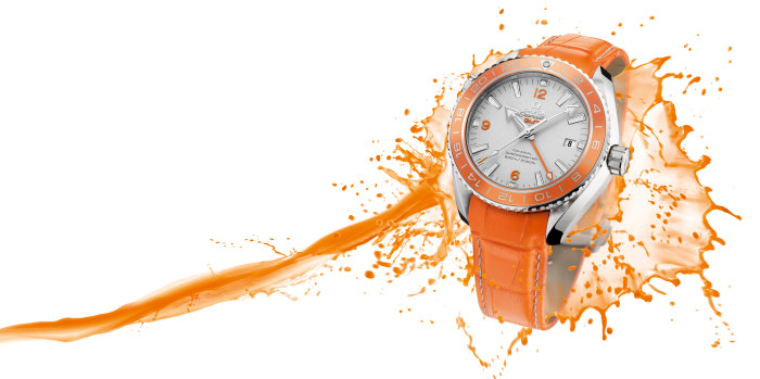 OMEGA Seamaster Planet Ocean Orange Ceramic 2