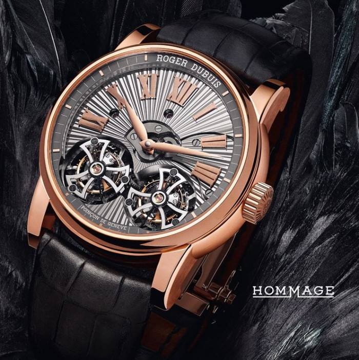 Roger Dubuis - Hommage Double Flying Tourbillon 1