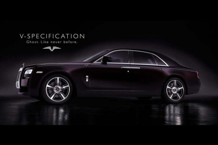 Rolls-Royce Limited Edition Ghost V Specification 1