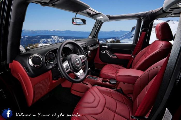 Vilner 2014 Jeep Wrangler Sahara - 14