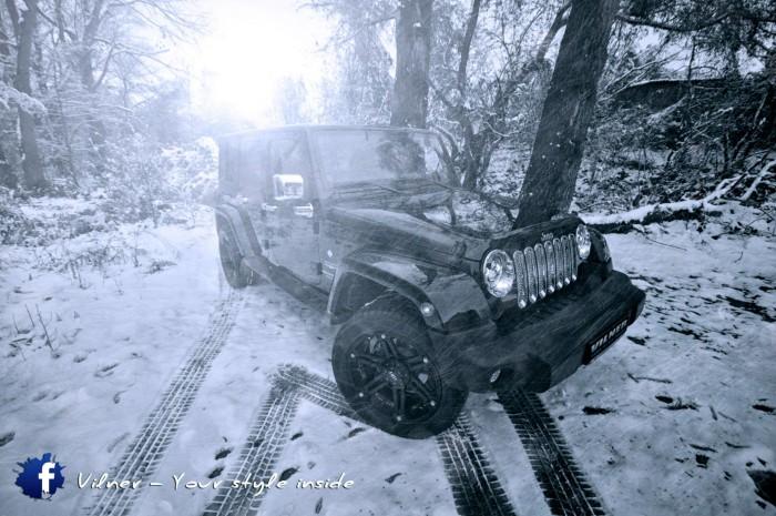 Vilner 2014 Jeep Wrangler Sahara - 2