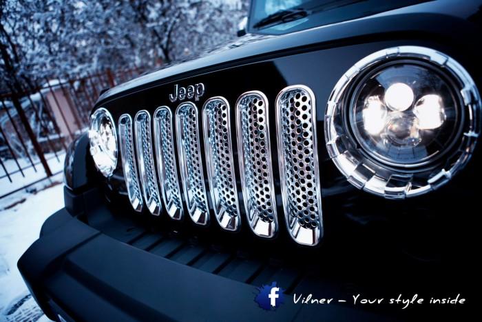 Vilner 2014 Jeep Wrangler Sahara - 4