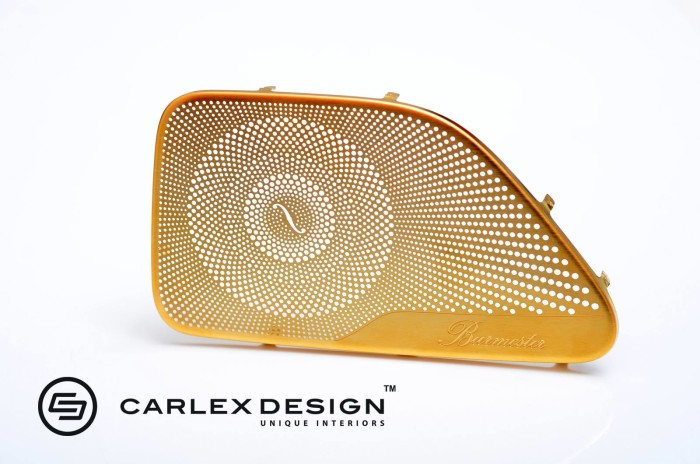 Carlex Design 24k Gold Trimmed Mercedes 3